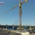 Sivas Arena İnşaatı Fotoğrafları - Temmuz 2013